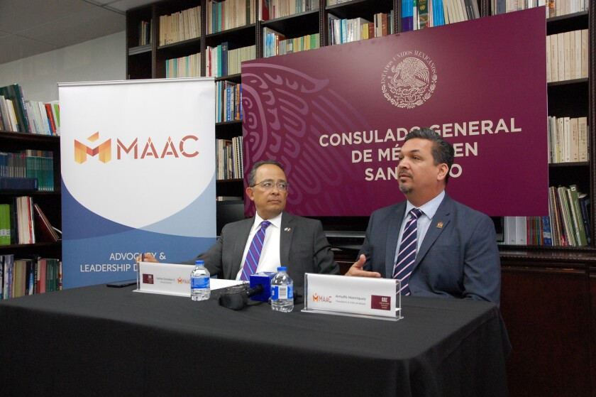 Mexican Consulate and MAAC present new scholarship fund.