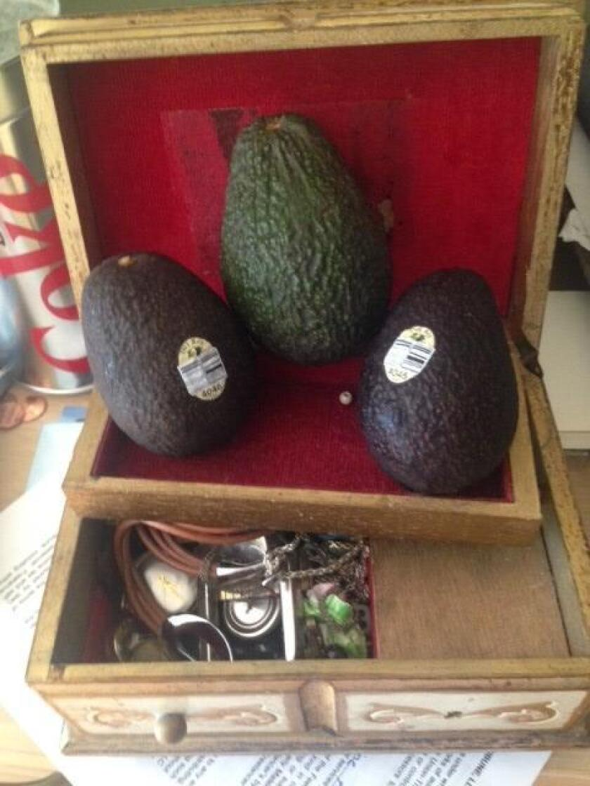 Avocados are considered national treasures of California and Mexico.