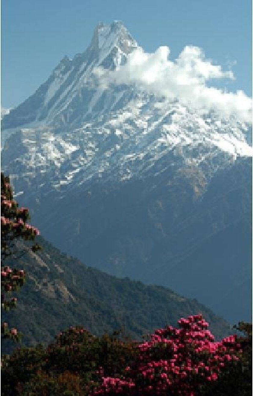 A new study looks at the role of monsoons in the growth of the Himalaya, including Mount Everest. Kip Hodges