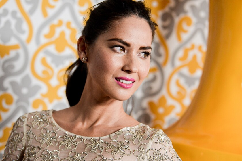 "Actress Olivia Munn worked with director Bryan Singer on ""X-Men: Apocalypse."""