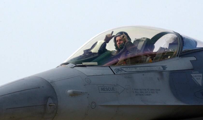 U.S. F-16 pilot