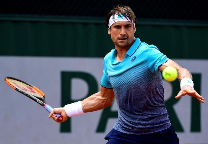 En la imagen, el tenista español David Ferrer. EFE/Archivo