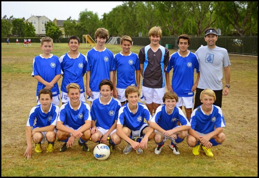 CdM U14 team captures title