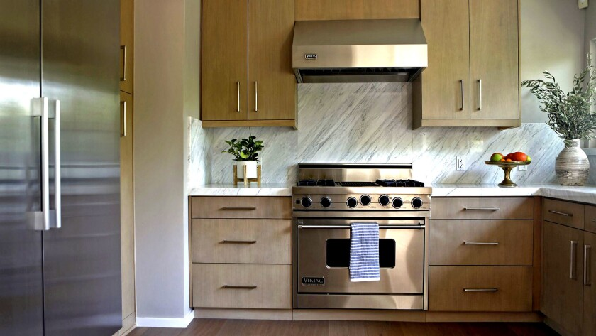 A kitchen renovation, such as the one in last year's Sunset Idea House in Beverly Hills, generally b