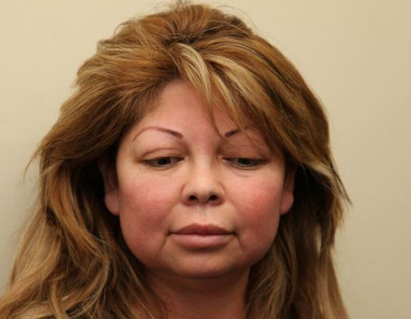 Sandra Perez Gonzalez has been arrested in connection with a suspicious death at a Long Beach beauty salon, police say.