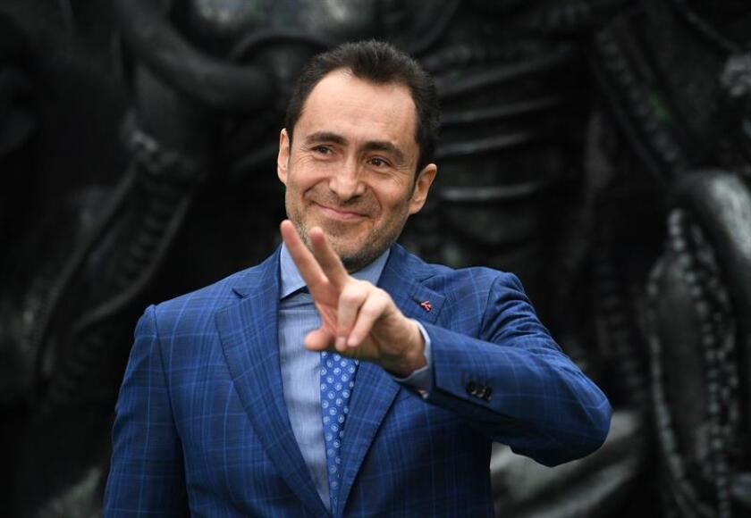 Fotografía de archivo del actor mexicano Demian Bichir. EFE/Archivo