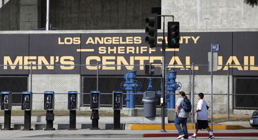 Los Angeles County Sheriff's Men's Central Jail facility in Los Angeles