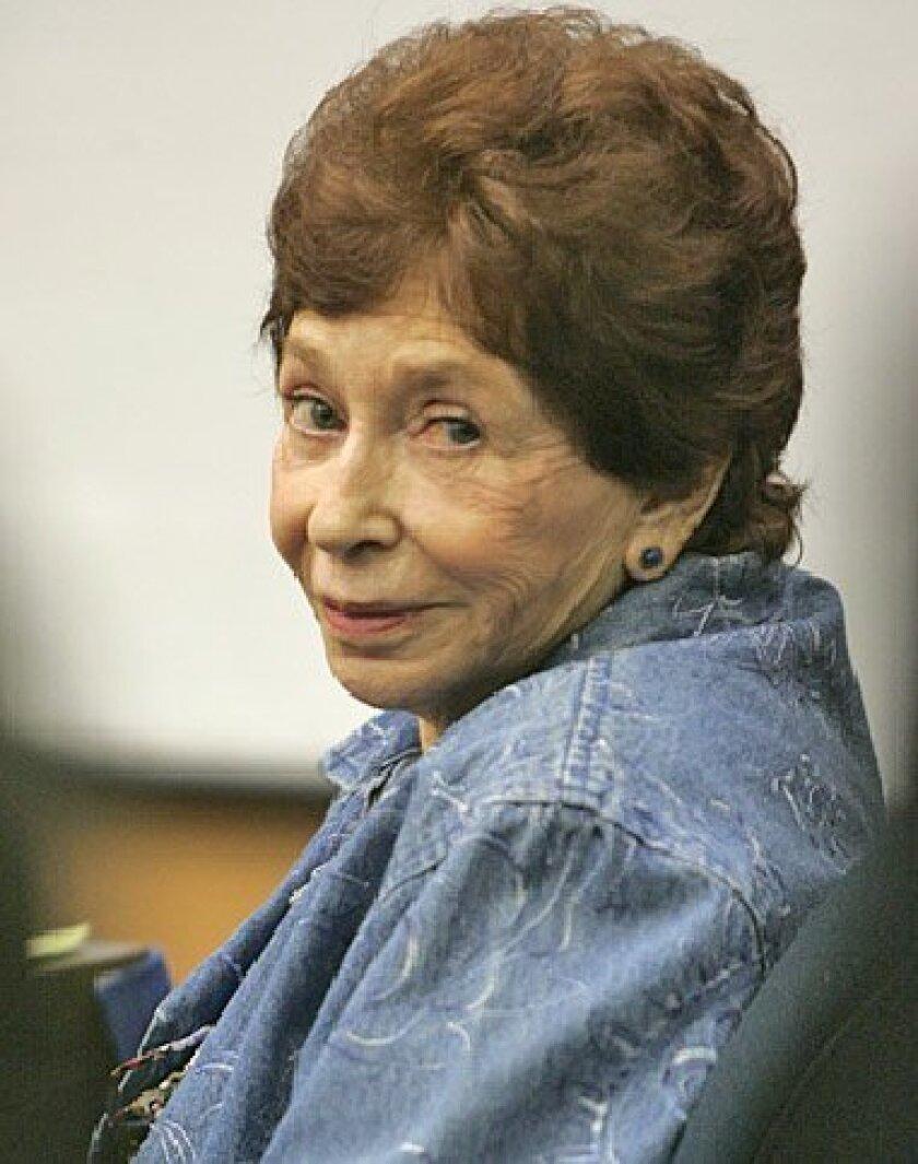 Virginia Prieto Kelly appeared at her  preliminary hearing. (Howard Lipin / Union-Tribune)
