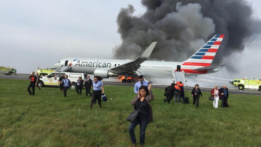 O'Hare jet fire