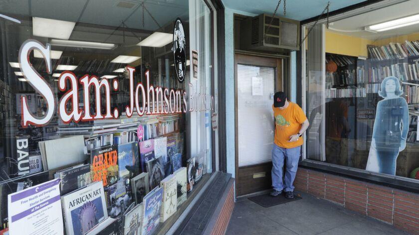 MAR VISTA, CA -- MARCH 29, 2018: Sam: Johnson's Bookshop has been on Venice Boulevard in Mar Vista s