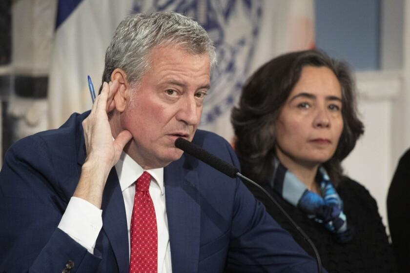 Virus Outbreak New York Health Commissioner
