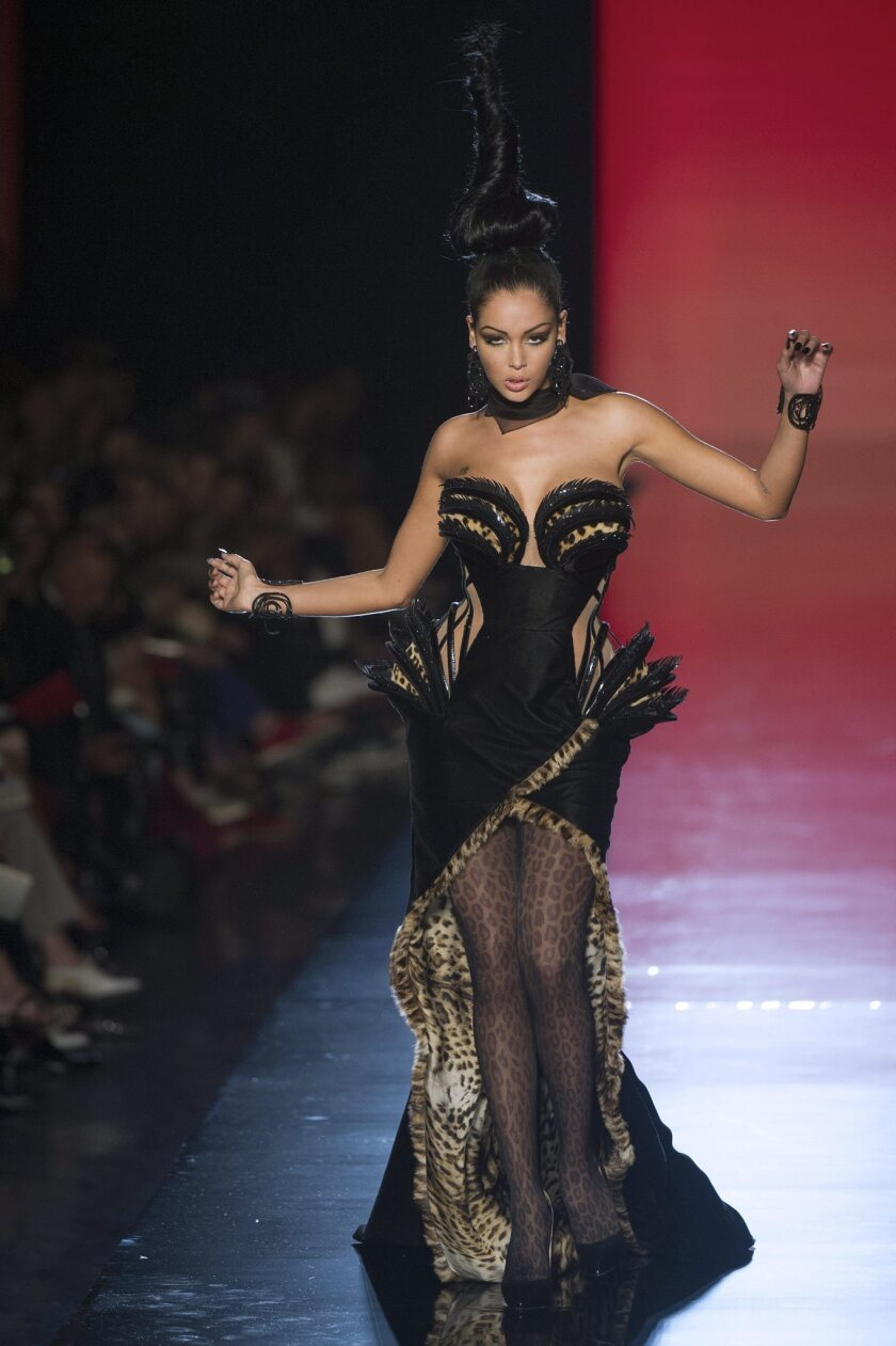 Jean Paul Gaultier Gets A Little Catty For Fall Los Angeles Times