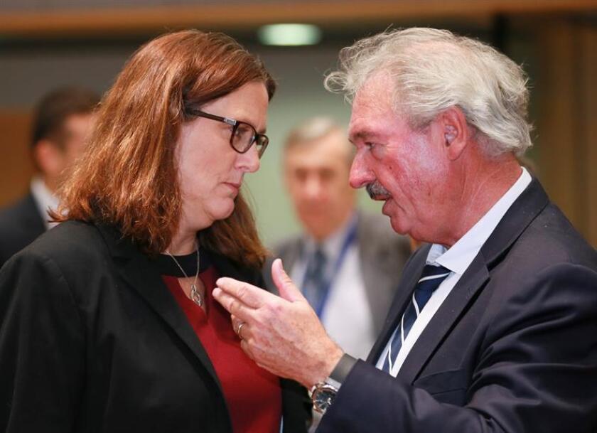 """La UE ve """"posibilidades realistas"""" de acuerdos con México y Mercosur este año"""
