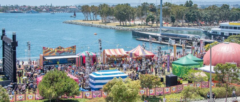Adult Swim carnival midway