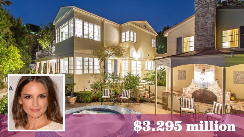 """She's All That"" star Rachael Lee Cook is asking $3.295 million for her longtime home in Hollywood Hills West."
