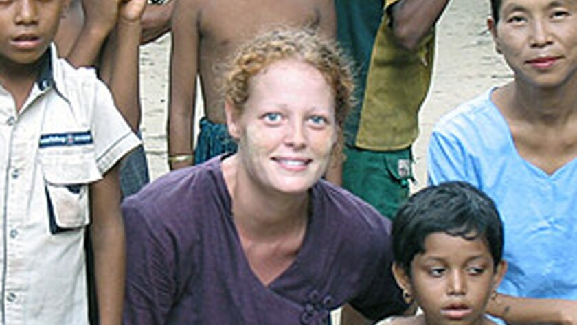 An undated photo of Kaci Hickox, a nurse quarantined in Newark, N.J.