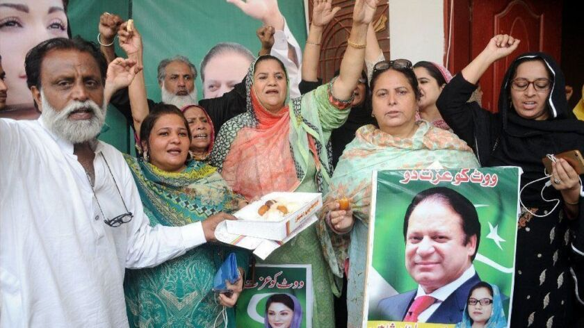 Court ordered release of former PM Sharif, Multan, Pakistan - 19 Sep 2018