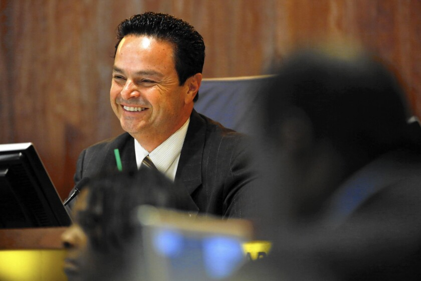 Carson Mayor Albert Robles' dual roles is targeted