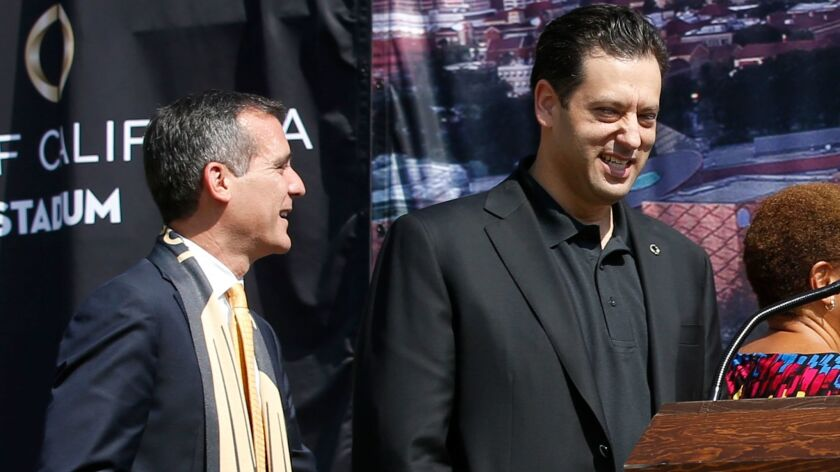 Eric Garcetti and Steven Sugarman
