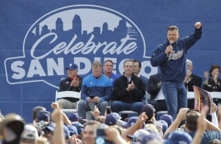 "San Diego sports teams, fans unite at ""Celebrate SD"" at Petco Park"