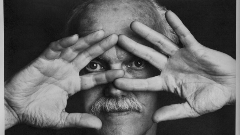"A still from the documentary movie ""Dying to Know: Ram Dass & Timothy Leary"", of Ram Dass formerly known as Richard Alpert. — Photograph: CNS Communications."