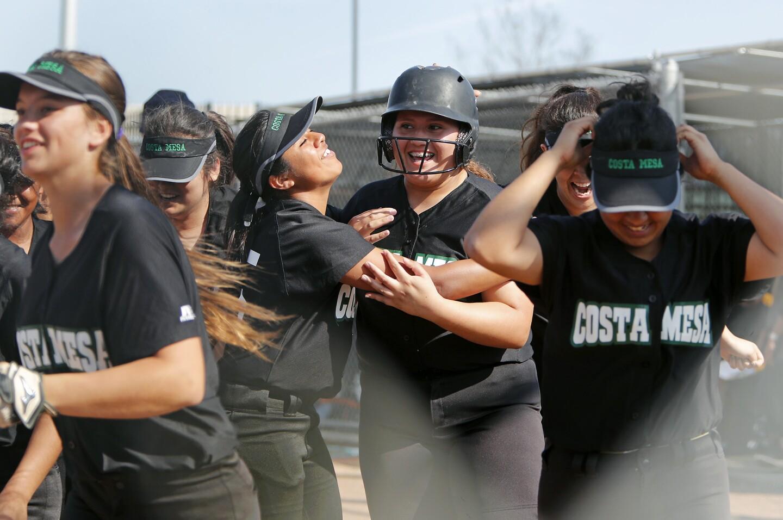 Photo Gallery: Estancia vs. Costa Mesa in softball