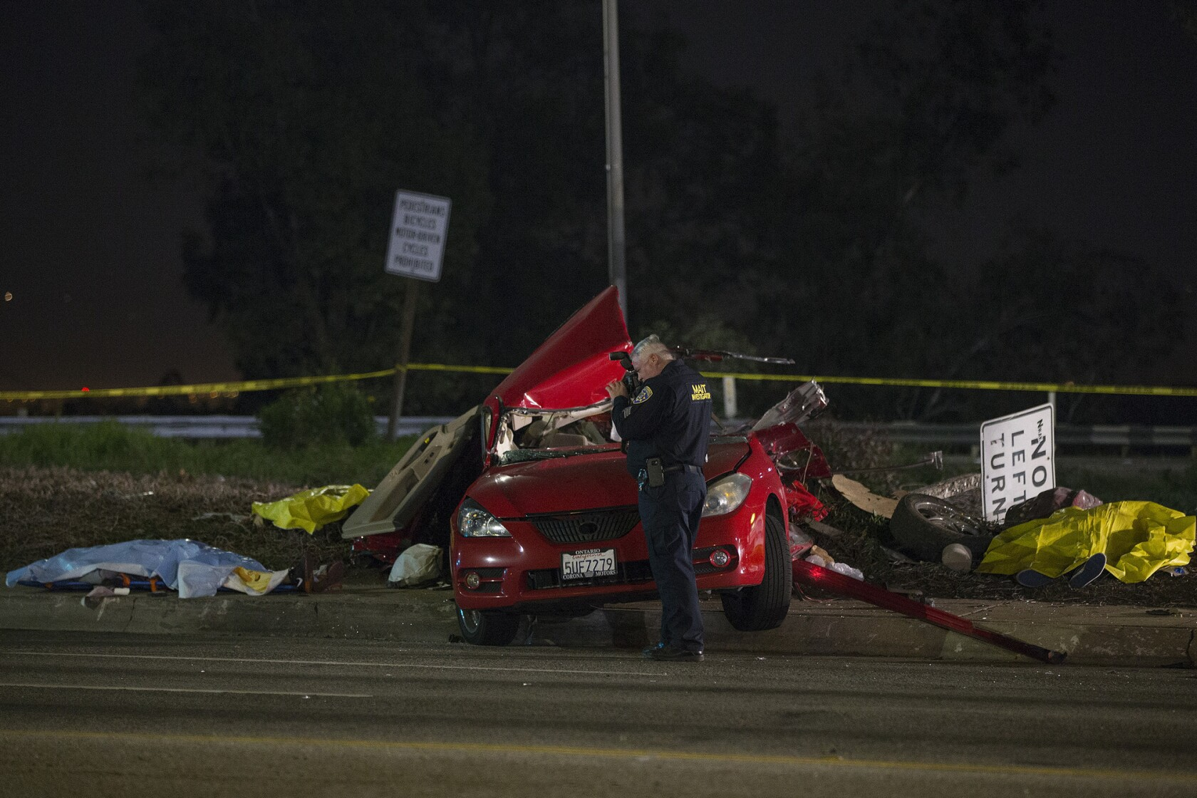 Five killed, including 7-year-old boy, after out-of-control