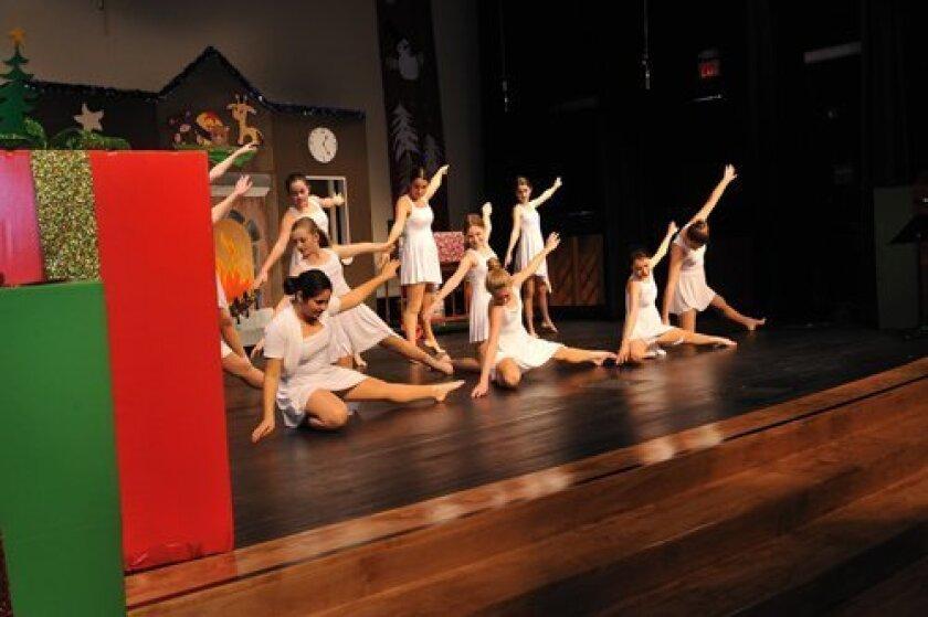 Winter holiday program Performed at Rancho Santa Fe Performing Arts Center