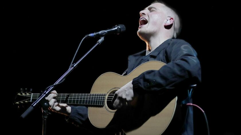At the El Rey, Irish singer-songwriter Dermot Kennedy's set showed a young writer already in transition, a singer with a strong backbone and star power beginning to test his limits and find new contexts for his talent.