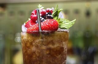 Belcampo Meat Co.: Cobbler cocktail