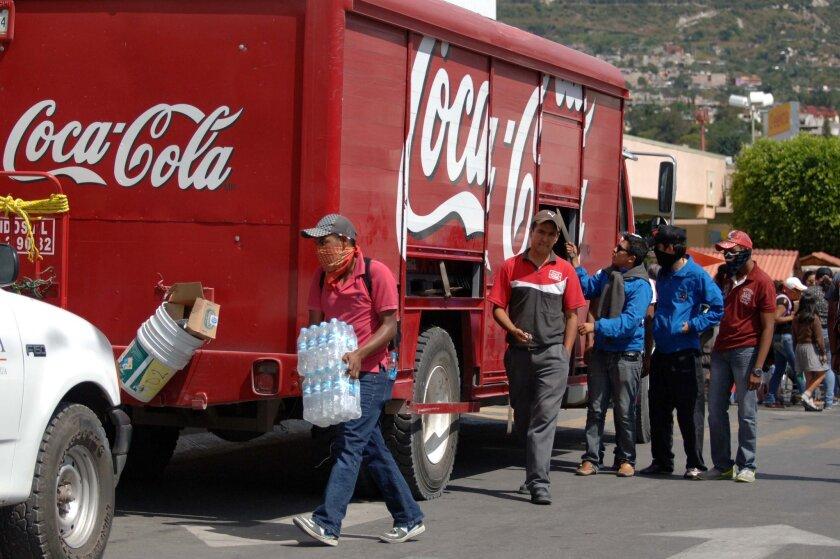 Coca-Cola, anunció su decisión de dejar de operar en la región de GGuerrero, debido las elevadas tasas de violencia enn esa entidad.