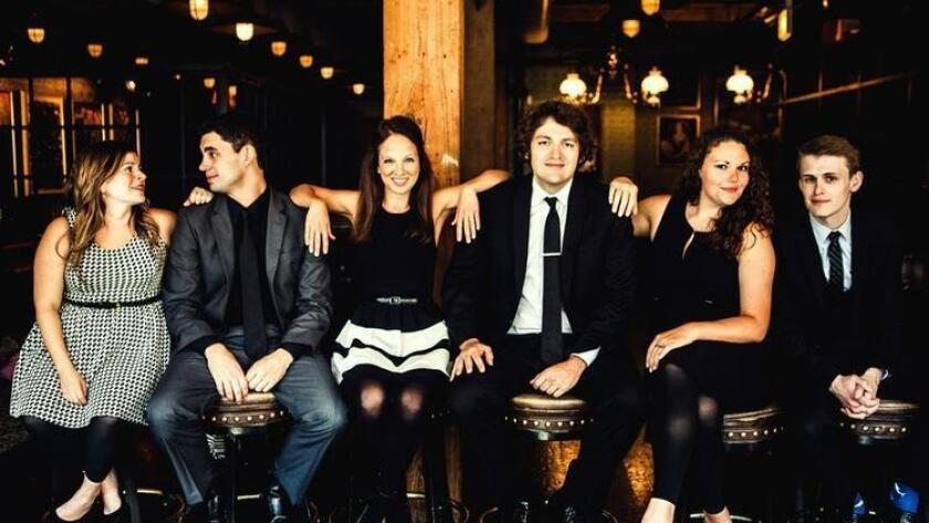 Members of Second City. (/ Courtesy La Jolla Playhouse)