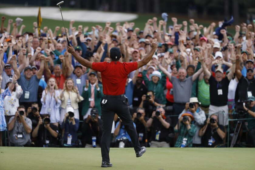 The final round of the 2019 Masters elicited the biggest cheers and emotions, but it was Tiger Woods' dominance the day before that proved that he was truly back.