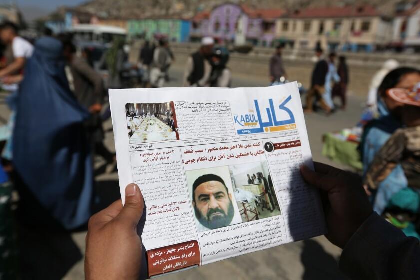 Afghan newspaper