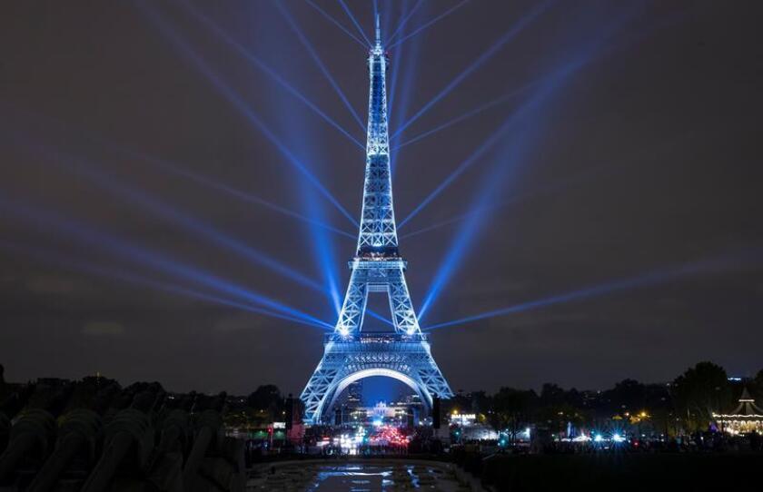 La Torre Eiffel. EFE/Archivo