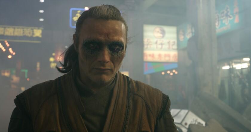 """Mads Mikkelsen is the villainous Kaecilius in """"Doctor Strange."""""""