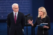 Moderator keeps presidential candidates on track