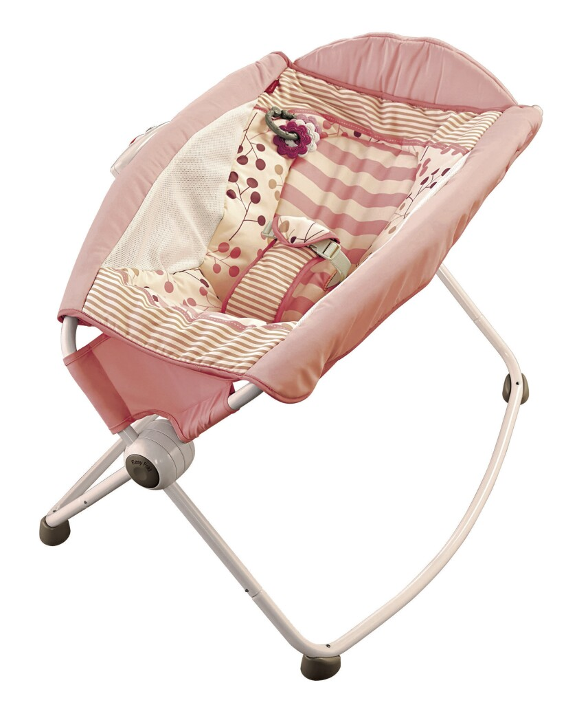 Fisher-Price previously recalled its Rock 'n Play sleeper (pictured). The newly recalled sleepers come as an accessory to its Ultra-Lite Day & Night Play Yards.