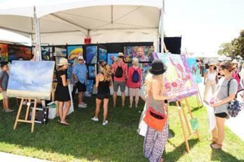ArtWalk @ Liberty Station: 13th year for this fine arts festival, 10 a.m. to 6 p.m. Saturday, Aug. 11; 10 a.m. to 5 p.m. Sunday, Aug. 12 at Ingram Plaza Rose Garden, 2751 Dewey Road. Thousands of works of art, plus food, kids area, live entertainment and interactive projects. Wine and beer pavilion to benefit ArtReach, which provides free art classes to disadvantaged students in San Diego County. Free admission. artwalksandiego.org/libertystation