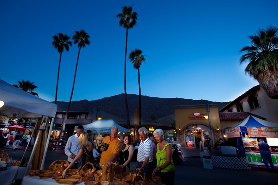 Every Thursday night, Village Fest takes over the streets of Palm Springs. It's a must for those seeking the most unique and idiosyncratic in top-quality artisanal crafts, street foods, art and more.