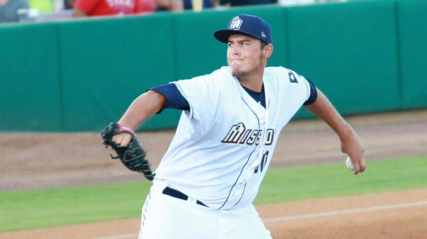 Left-handed reliever Brad Wieck will represent the Padres in the Arizona Fall League.