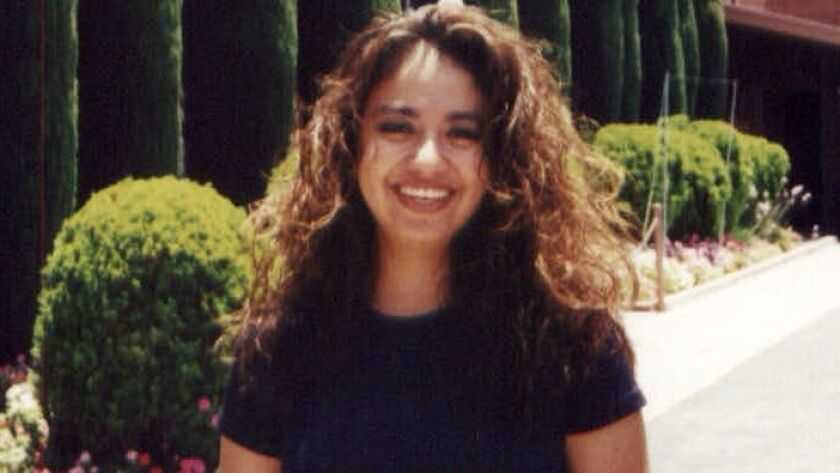 Diana Raquel Rojas, then 27, went missing in 2000, leaving behind a 2-year-old daughter. An anonymous tip led Long Beach police excavate a desert area in Ridgecrest this week in search of her remains.