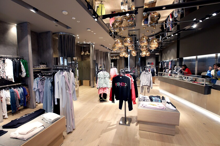 BEVERLY HILLS, CA., JULY 19, 2018--Reopening of the Traffic LA boutique at the Beverly Center, with