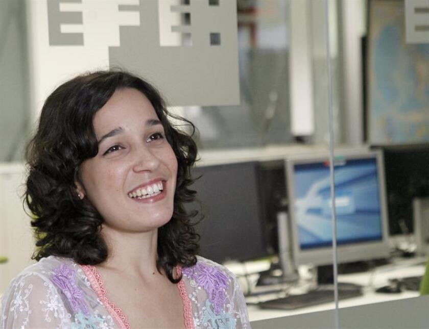 iLe, voz femenina de Calle 13 y hermana pequeña del famoso dúo puertorriqueño, durante la entrevista con Efe. EFE/Archivo