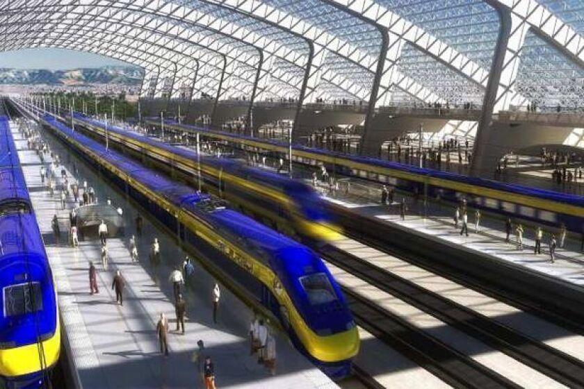California high-speed rail bidding rules were changed