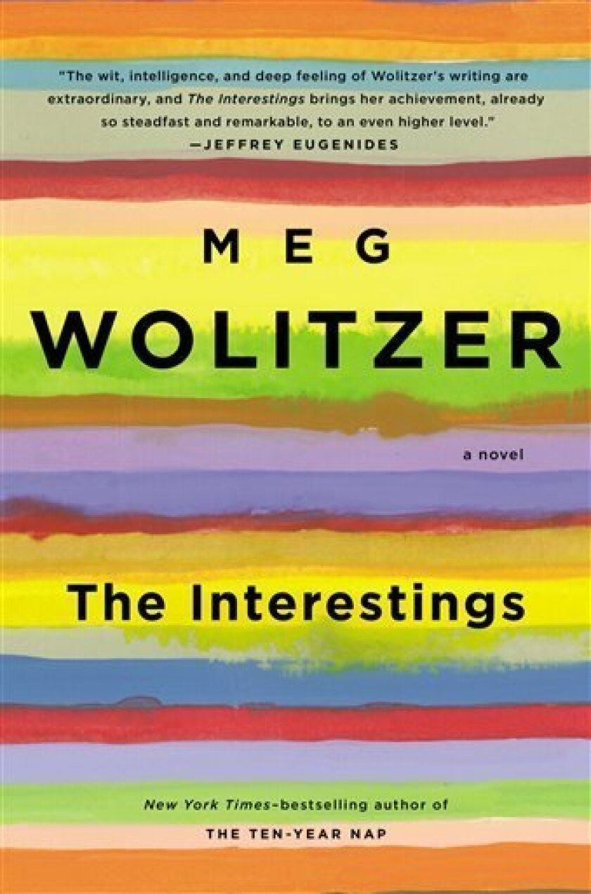 """This book cover image released by Riverhead Books shows """"The Interestings,"""" by Meg Wolitzer. (AP Photo/Riverhead Books)"""