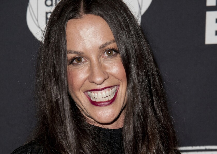 Alanis Morissette's Brentwood home was broken into last month. The singer was not home at the time of the burglary.