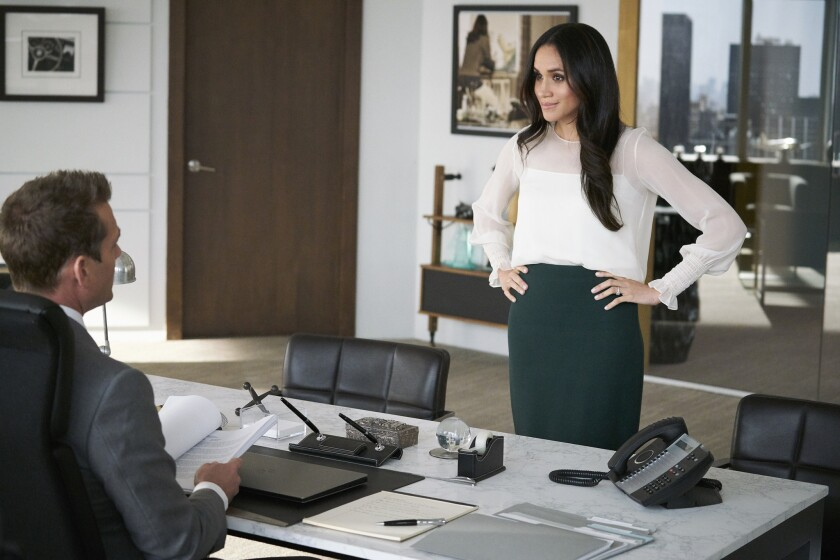 """Meghan Markle in TV show """"Suits"""""""