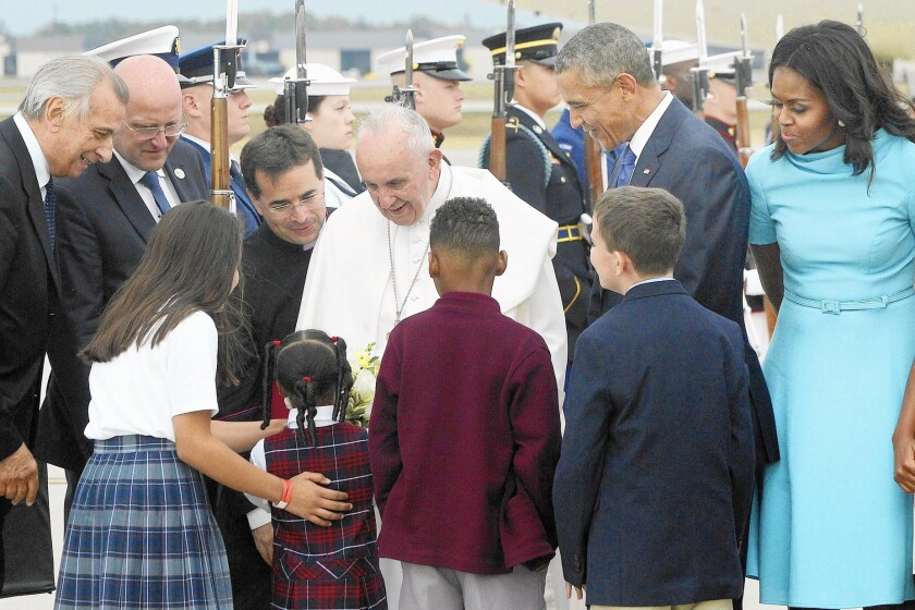 Pope's East Coast visit is the hottest ticket in California - Los