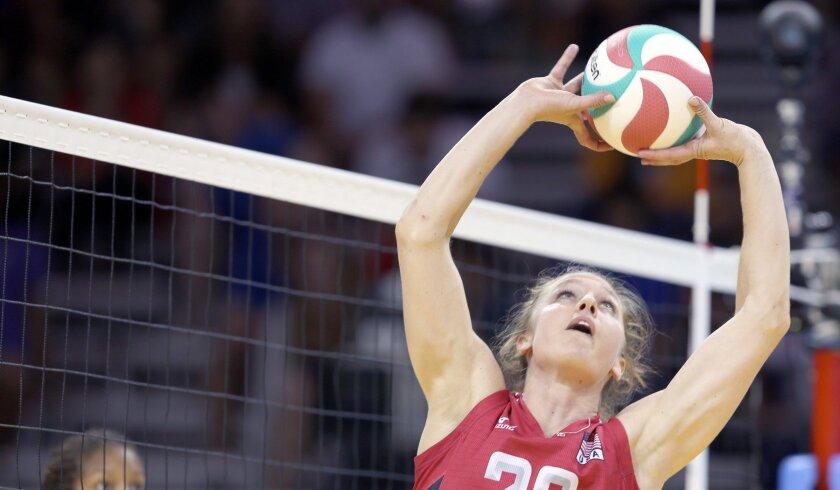 Fallbrook's Carli Lloyd was chosen volleyball MVP of the 2015 Pan American Games.